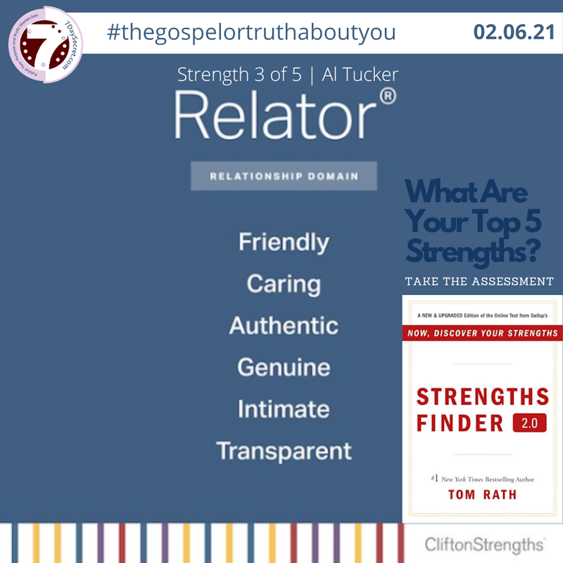 How I Use My RELATOR Strength Theme To Help You Win